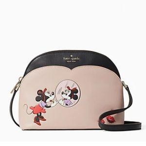 Disney x Kate Spade minnie mouse dome crossbody